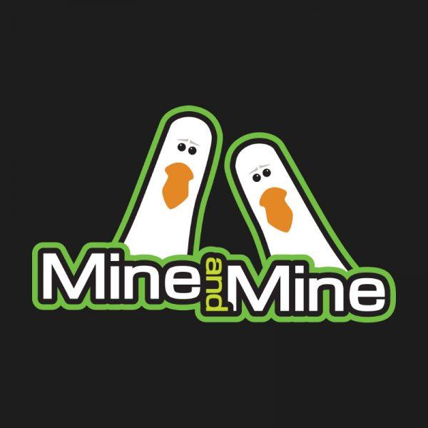 Teestruct - Mine and Mine Seagulls T-Shirt